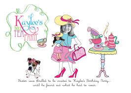 Kitchen Tea Party Invitation Ideas Ewe Hooo A Delightful Doll Tea Party
