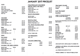 no 5 hair studio view our price lists for 2011 no 5 hair studio
