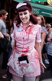 Zombie Chef Halloween Costume Zombie Waitress Halloween Halloween Costumes