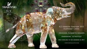 swarovski scs orchid membership gift 2013