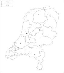 netherlands map cities netherlands free map free blank map free outline map free base