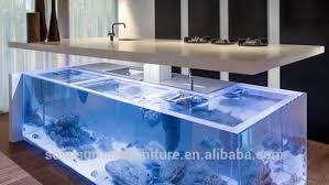 Fish Tank Reception Desk 2017 Hot Sale Acrylic Solid Surface Bar Counter Aquarium Fish Tank