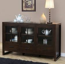 Glass Fronted Sideboards Sideboards And Buffets With Glass Doors Foter