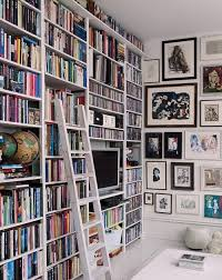 beautiful bookshelf paredes con cuadros bibliotecas pinterest walls books and