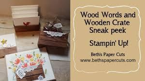 wood words wood words and wood crate framelits sneak peek beth s paper cuts