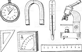 compass and magnet alpelmet with thermometer and microscope