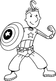 coloring pages avengers nickelodeon avengers doug coloring page wecoloringpage