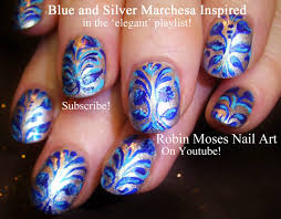 blue and silver nail designs image collections nail art designs