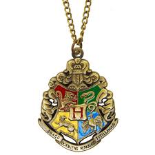 harry potter pendant necklace images Harry potter hogwarts crest pendant necklace bronze jpg