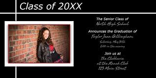 senior graduation announcement templates photo paper graduation announcements cards bay photo lab bay