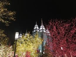 temple square lights 2017 schedule my musings lighting of temple square