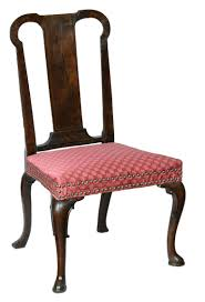 mahogany queen anne side chair england circa 1740 for sale at