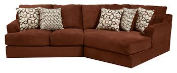 small three seat sectional sofa by jackson furniture wolf and