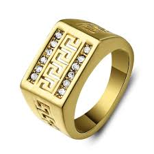 gold ring images for men wholesale fashion middle east jewelry rings men retro hollow
