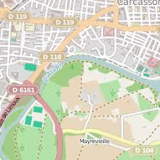 bureau de poste carcassonne boites aux lettres et postes carcassonne 11 carte et plan