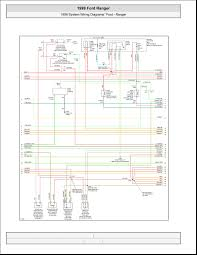 1999 ford ranger system wiring diagrams 4 images wiring