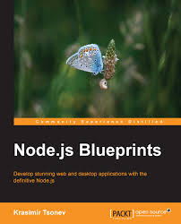 best node js books node js blueprints packt books