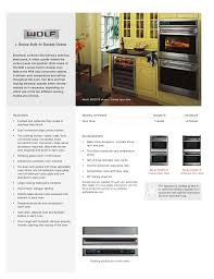 download free pdf for wolf do30u oven manual