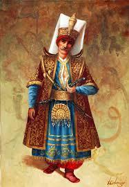 Ottomans Turks Yeniçeri Aşçıbaşı Tören Kıyafeti Ile Ottoman And Other Turks