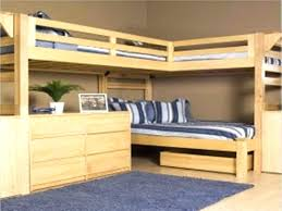 Bunk Bed Design Plans Decoration Loft Bed With Underneath