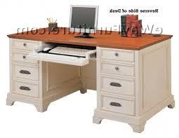 Distressed Computer Desk Black Vintage Large Desk With Regard To Stylish Residence
