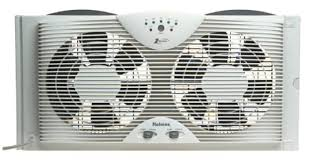 fans that work like ac amazon com holmes dual blade twin window fan with one touch