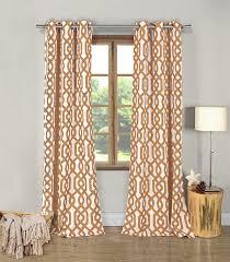 Overstock Curtains Amazon Com Duck River Textiles Ashmont Printed Blackout Grommet
