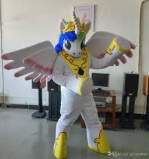 oisk custom cartoon horse princess celestia mascot costumes