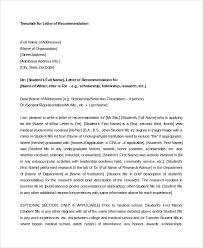 ideas collection letter of recommendation for medical fellowship