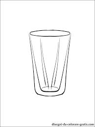 disegni bicchieri disegno di bicchiere da stare disegni da colorare gratis