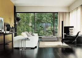 Black And White Chair And Ottoman Design Ideas Black White Stripe Ottoman Interior Design Ideas