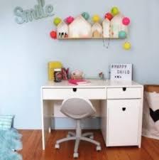 bureau pour enfant bureau fdtc blanc transparent pour chambre enfant file dans ta