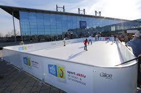 Best Backyard Hockey Rinks Synthetic Ice Rinks Glice Swiss Engineered Artificial Ice