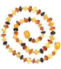 babies teething necklace images Handmade baltic amber teething necklace for babies safety jpg