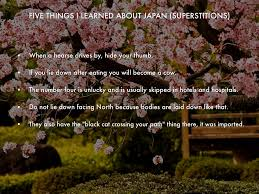 Unlucky Things Japanese Superstition By Felicity Austin