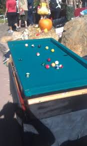 pool table grill