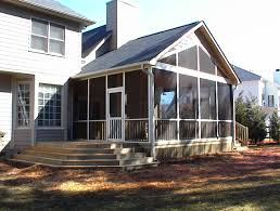 Wrap Around Deck Designs by Charlotte Huntersville Screen Porch Sunroom Room Addition Artisans