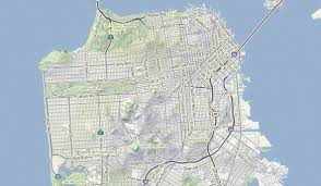 San Francisco Elevation Map Terrain Process U2013 Hi Stamen