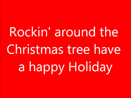 rockin u0027 around the christmas tree lyrics youtube