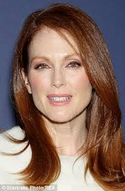 julie ann moore s hair color julianne moore lightens her red locks for role opposite ellen page