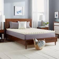 slumber solutions big bump 3 inch memory foam mattress topper