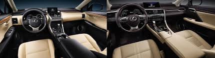 lexus nx f interior 2017 lexus nx vs 2017 lexus rx comparison in naples fl germain