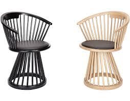 fan dining chair hivemodern com