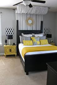 baby nursery inspiring black white yellow bedroom and decor
