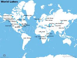 world map oceans seas bays lakes our world s oceans lakes and rivers lessons tes teach