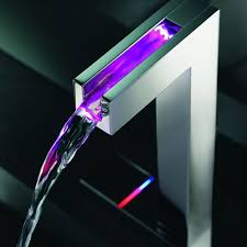 Led Bathroom Faucet by Temperature Sensitive Faucets For Modern Homes