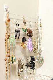 Jewelry Wall Hanger 147 Best Diy Jewelry Storage Images On Pinterest Jewelry Storage