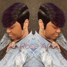 black hair 27 piece with sidebob no leave out custum color quickweave no 27 piece allowed