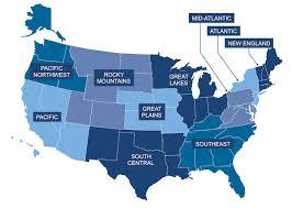 fema region map fema gov communities your u s region earthquakes