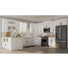 kitchen cabinet door handles home depot hton assembled 15x30x12 in wall kitchen cabinet in satin white
